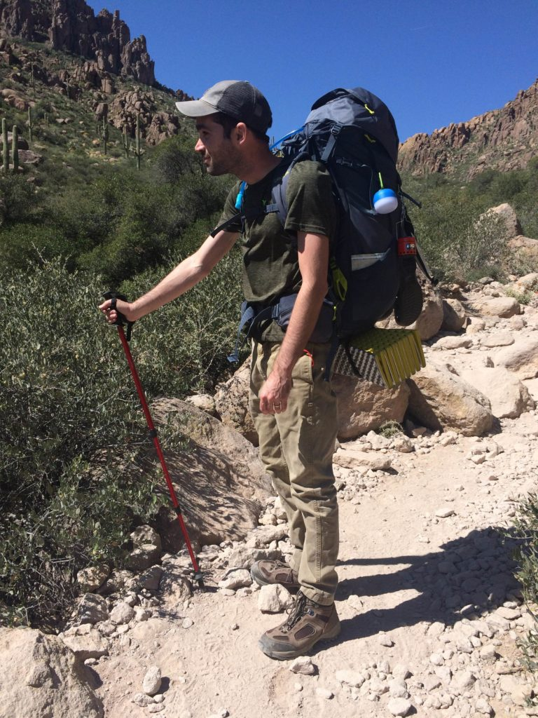 peralta trail backpacking